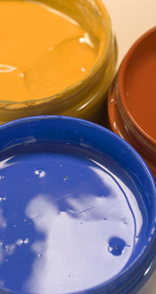Clay paints photo